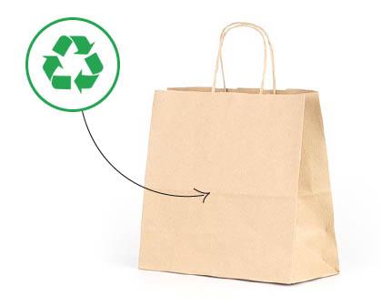 bolsas de papel reciclado