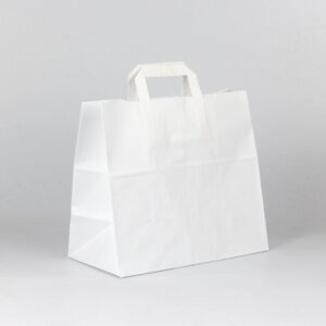 Bolsa take away 32x17x29 blanca