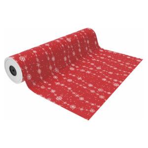 Papel de regalo navideño rojo NV1801